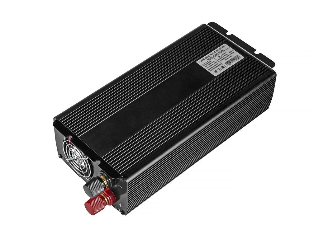 Green Cell ® Voltage Car Inverter 12V to 230V, 1000W/2000W Full Sine Wave
