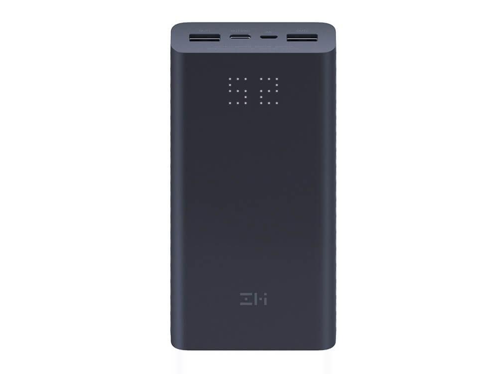 Oryginalny Power Bank Xiaomi ZMI Aura 20000mAh QB822 ze wskaźnikiem LED