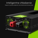 Green Cell ® Voltage Car Inverter  24V to 230V Pure Sinusoid 2000W