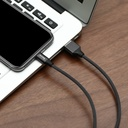 Baseus Yiven USB / Lightning Cable with Material Braid 1,8M black (CALYW-A01)