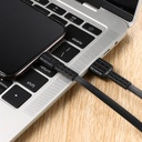 Remax Armor Series flat USB / Lightning cable 5V 2.4A black (RC-116i)