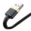 Baseus Cafule Cable Durable Nylon Braided Wire USB / Lightning QC3.0 2A 3M black-gold (CALKLF-RV1)