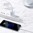 Baseus durable USB cable Type C PD / Lightning 18W QC3.0 1m white (CATLSW-02)