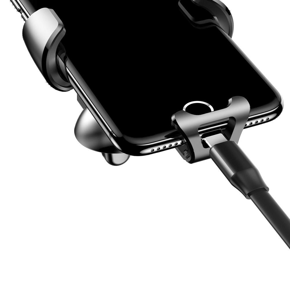 "Baseus Gravity Car Mount Phone Bracket Air Vent Holder for 4-6"" Devices black (SUYL-01)"