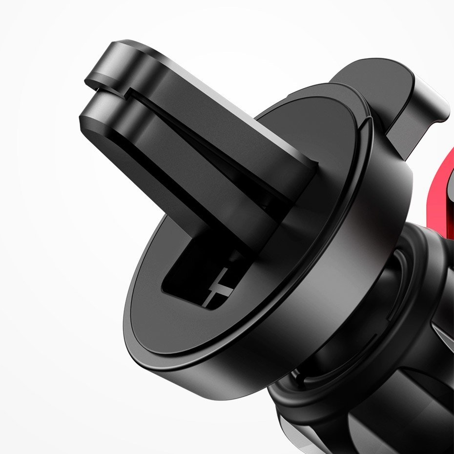 Baseus YY vehicle-mounted phone gravity holder with charging USB Lightning cable Silver (SULYY-0S)