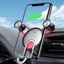 Baseus YY vehicle-mounted phone gravity holder with charging USB Lightning cable Black (SULYY-01)