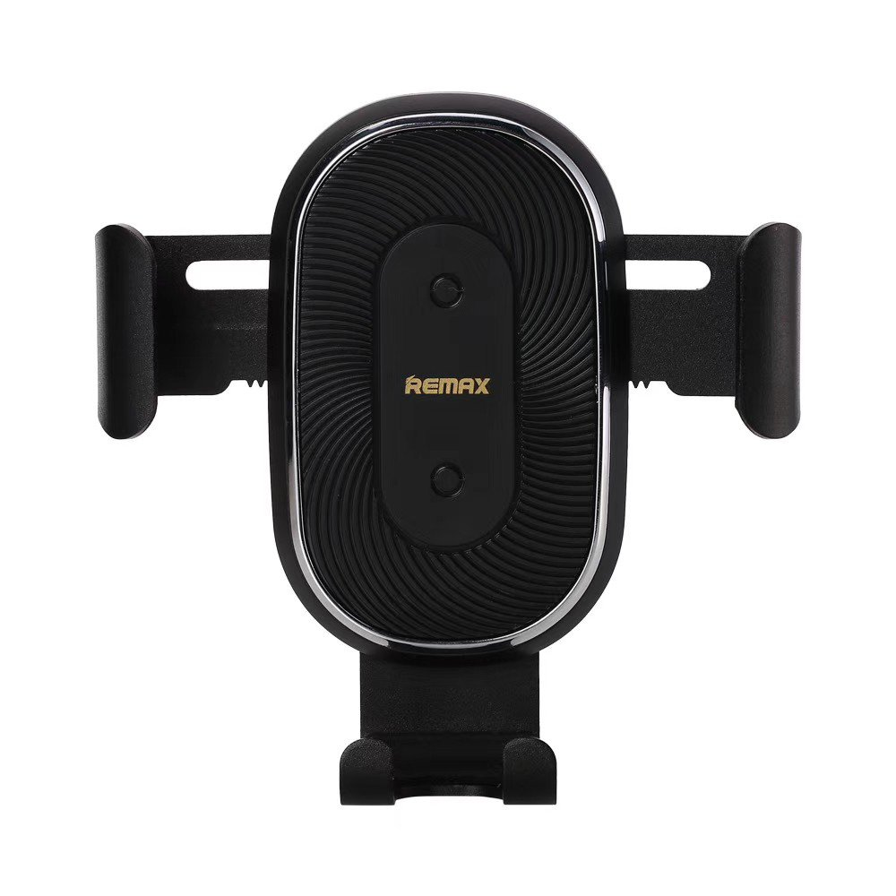Remax Wireless Charger Gravity Car Mount Phone Bracket Air Vent Holder + Qi Charger 10W black (RM-C38)