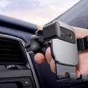Baseus Cube Gravity Car Mount Air Vent Phone Bracket Holder silver (SUYL-FK0S)