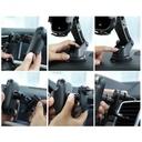 Baseus Smart Vehicle Bracket Wireless Qi Charger 15W Electric Auto Car Mount Bracket Air Vent Holder black (WXHW03-01)