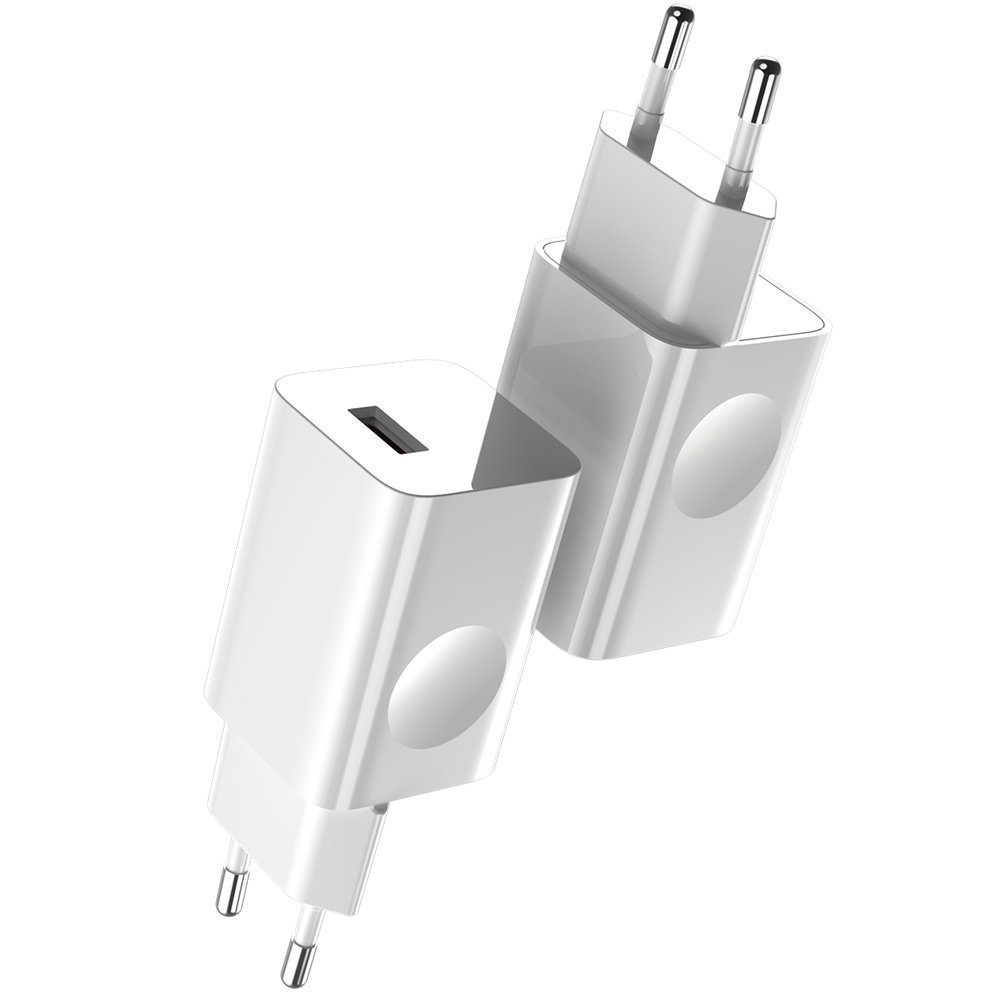Baseus Charging Quick Charger Travel Charger Adapter Wall Charger USB Quick Charge 3.0 QC 3.0 biały white (CCALL-BX02)