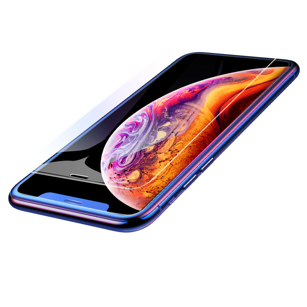 Baseus Full-Glass Full Coverage Tempered Glass 0.3 mm for iPhone 11 Pro Max / iPhone XS Max transaprent (SGAPIPH65-ES02)