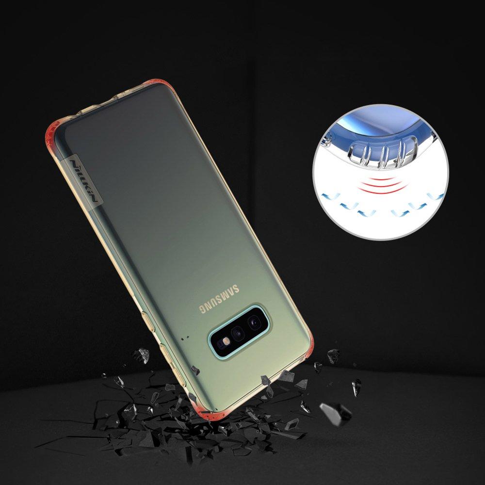 Nillkin Nature TPU Case Gel Ultra Slim Cover for Samsung Galaxy S10e transparent
