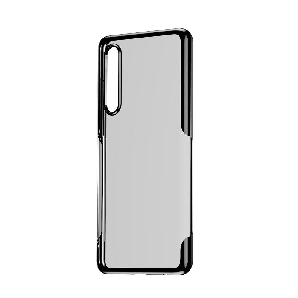 Baseus Shining Case gel cover for Huawei P30 black (ARHWP30-MD01)
