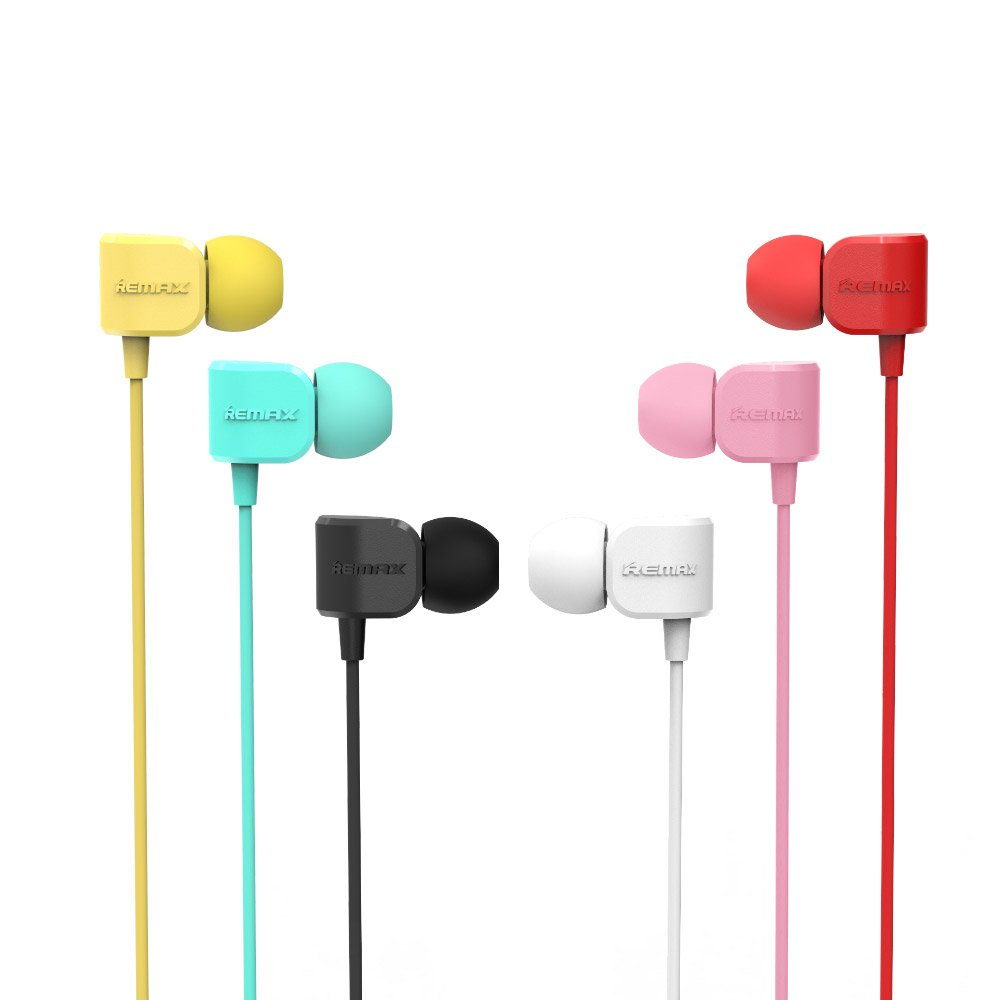 Remax In-ear Headphone with Microphone and In-line Control white (RM-502 white)