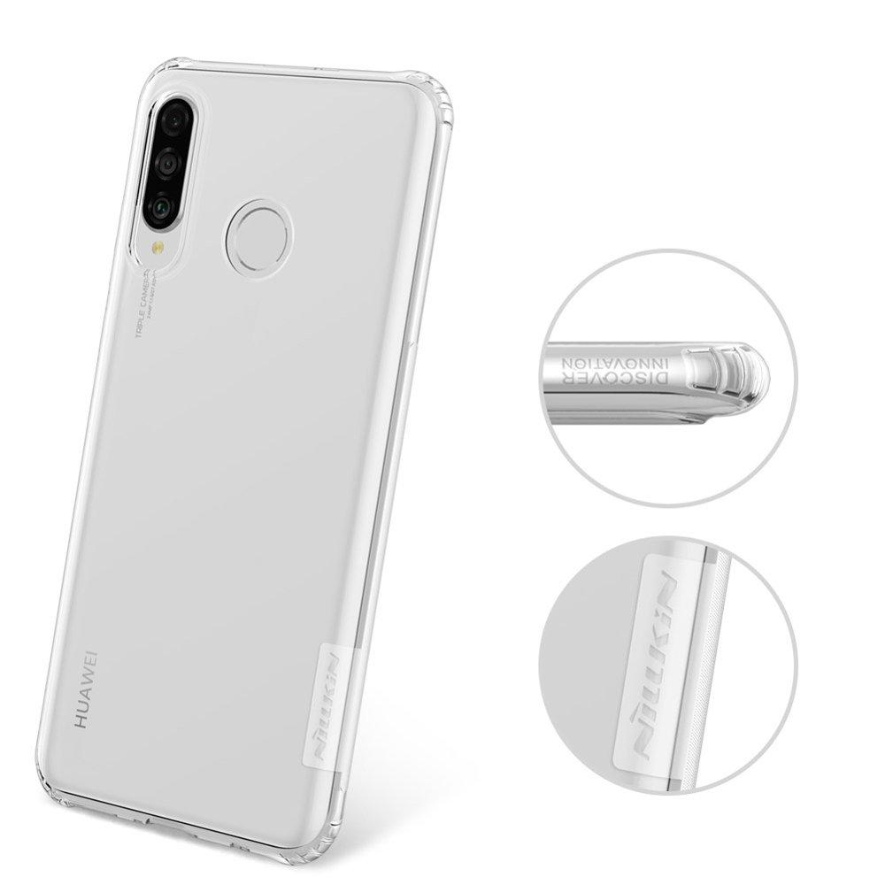 Nillkin Nature TPU Case Gel Ultra Slim Cover for Huawei P30 Lite transparent