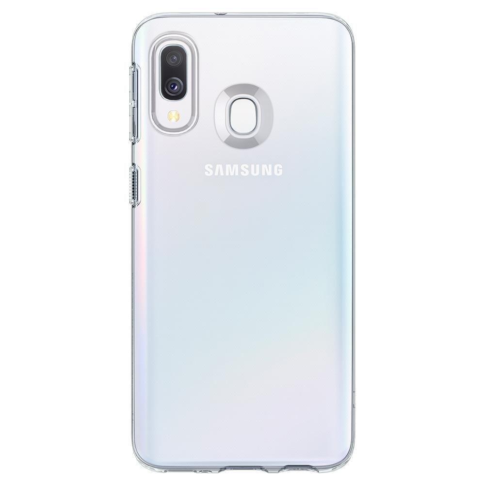 Spigen Liquid Crystal Galaxy A40 Crystal Clear