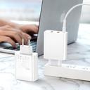 Baseus Speed PPS Quick charger C+U+U 60W EU 2x USB / USB Type C PD Quick Charge 3.0 QC3.0 black (CCFS-G01)