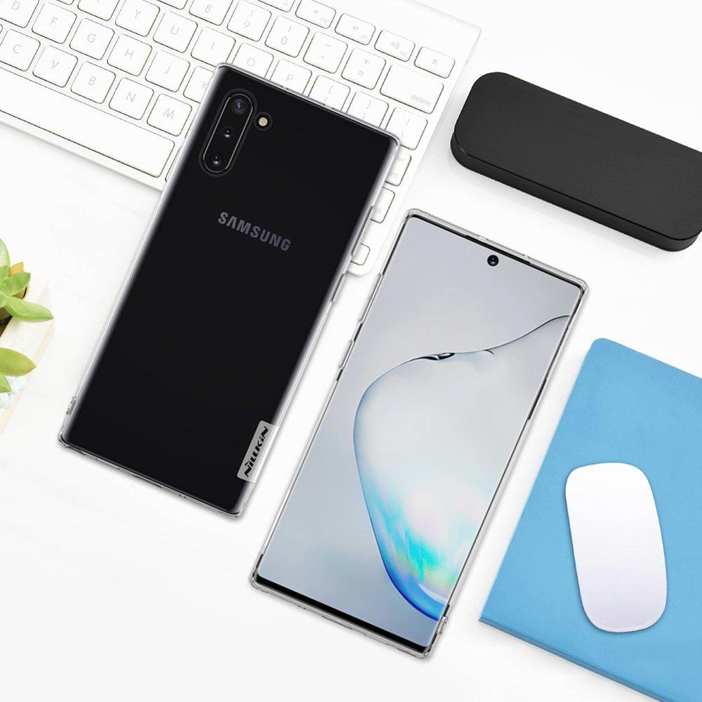 Nillkin Nature TPU Case Gel Ultra Slim Cover for Samsung Galaxy Note 10 transparent