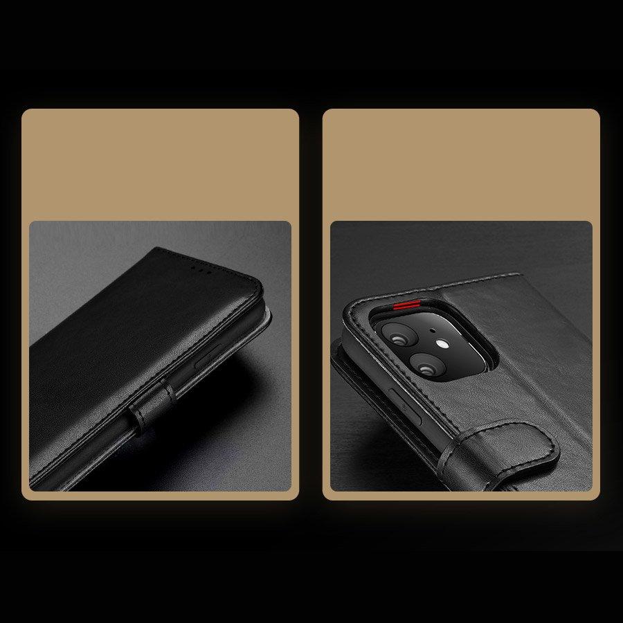 Dux Ducis Kado Bookcase wallet type case for iPhone 11 black