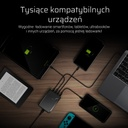 Green Cell Power Source 75W 4-port charger USB-C PD with ultrabook charging and Ultra Charge technology