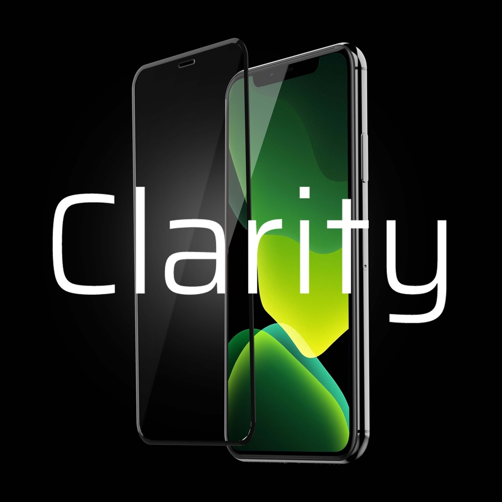 GC Clarity Screen Protector for Apple iPhone 7 Plus, 8 Plus - Biały