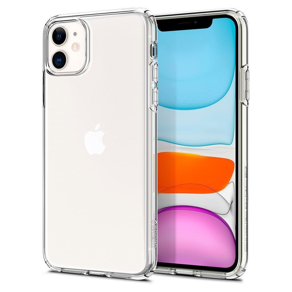 Spigen Liquid Crystal Iphone 11 Crystal Clear