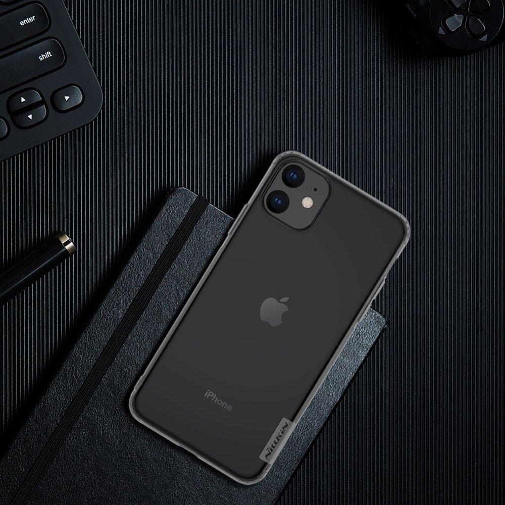 Nillkin Nature TPU Case Gel Ultra Slim Cover for iPhone 11 transparent