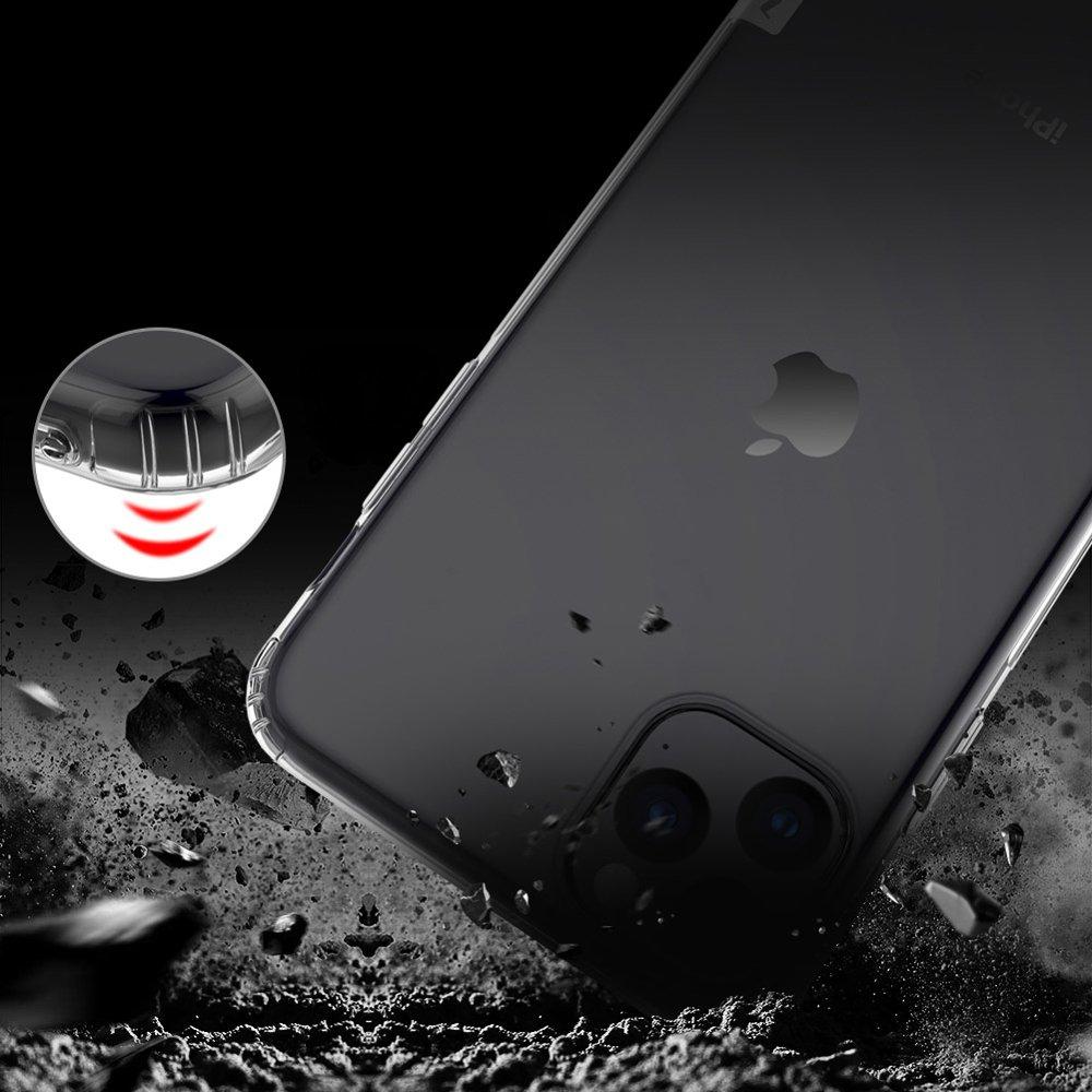 Nillkin Nature TPU Case Gel Ultra Slim Cover for iPhone 11 Pro Max transparent
