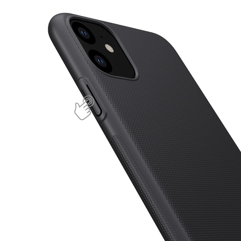Nillkin Super Frosted Shield Case + kickstand for iPhone 11 black