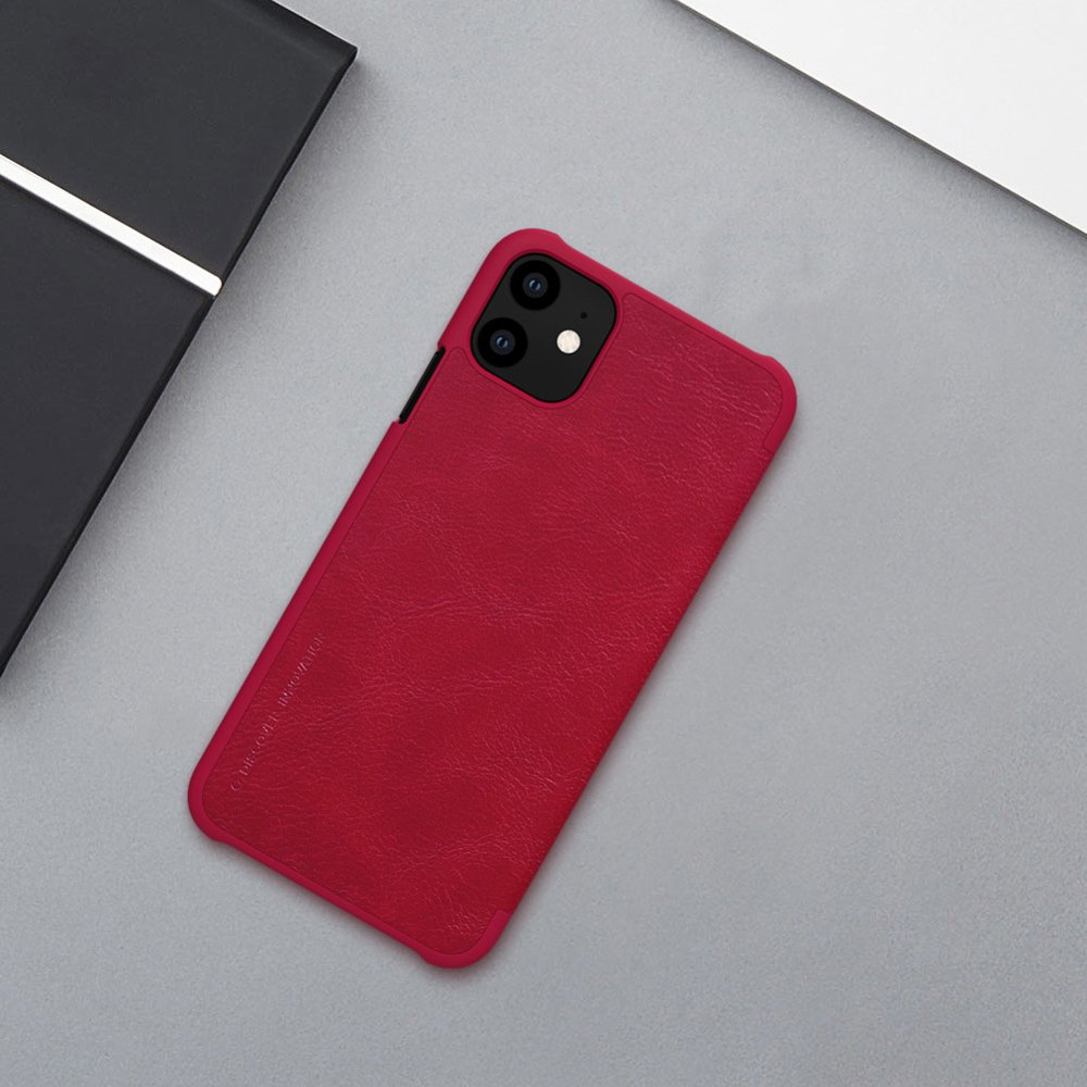 Nillkin Qin original leather case cover for iPhone 11 black