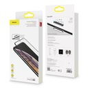 Baseus 2x full-screen curved anti-blue light tempered glass screen protector for iPhone 11 Pro Max / iPhone XS Max black (SGAPIPH65-WE01)