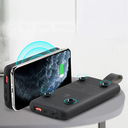 Remax Power Bank 10000mAh 18W Power Delivery with Wireless Charger Qi with suction cup 10W black (RPP-105 black)