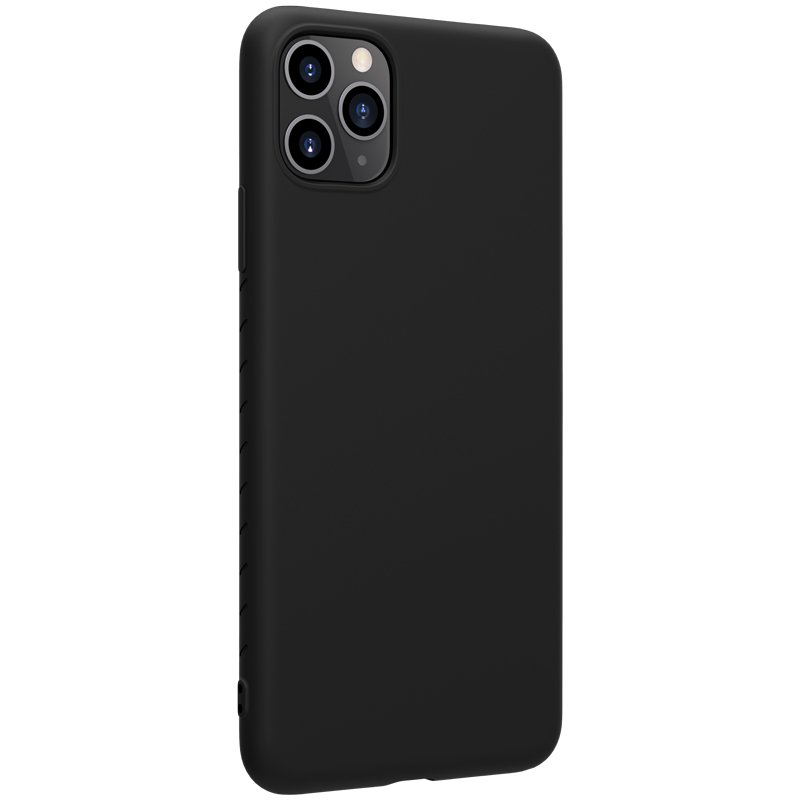 Nillkin Rubber Soft Flexible Rubber Cover for iPhone 11 Pro Max black