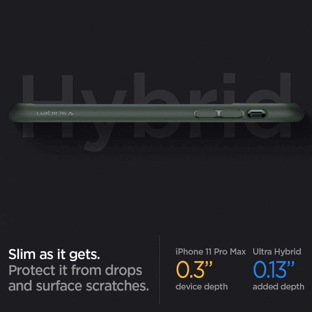 Spigen Ultra Hybrid Iphone 11 Pro Midnight Green