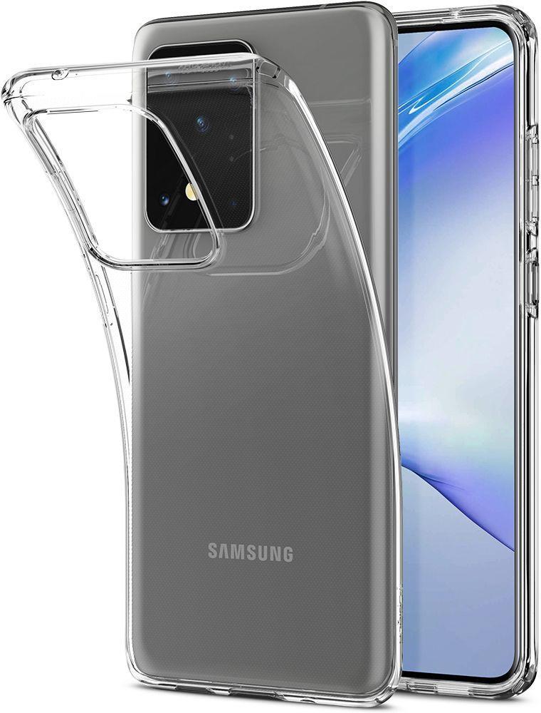 Spigen Liquid Crystal Galaxy S20 Ultra Crystal Clear