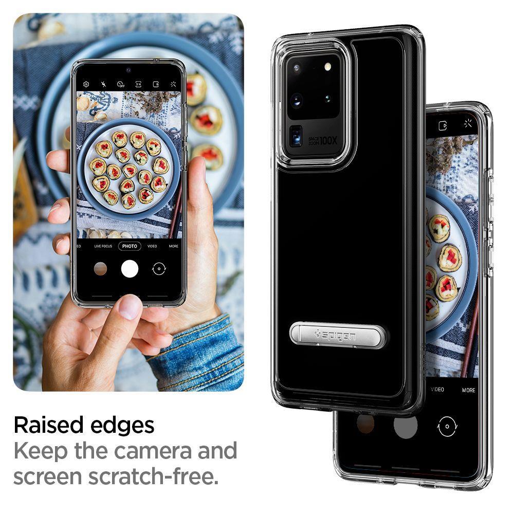 "Spigen Ultra Hybrid ""S"" Galaxy S20 Ultra Crystal Clear"