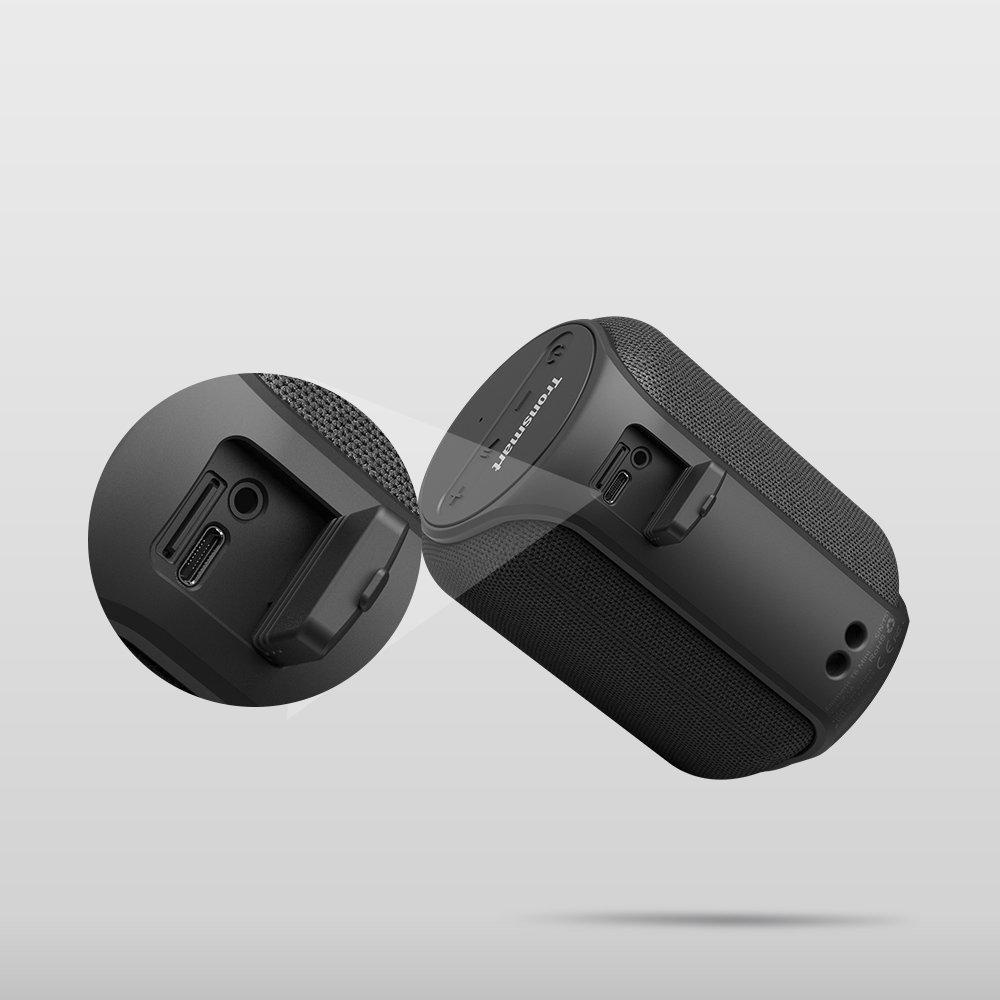 Tronsmart T6 Mini portable wireless Bluetooth 5.0 speaker 15W black (364443)