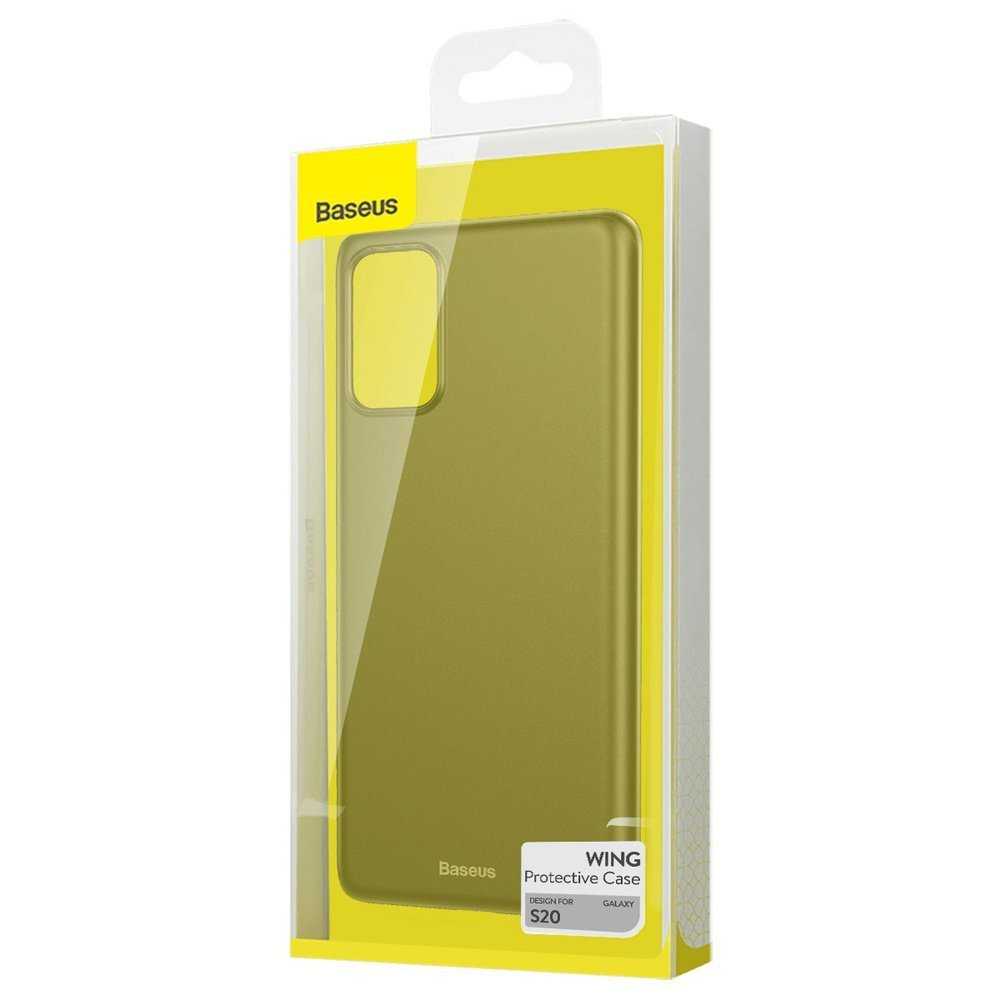 Baseus Wing Case Ultra Thin Lightweight PP Cover for Samsung Galaxy S20 black (WISAS20-01)