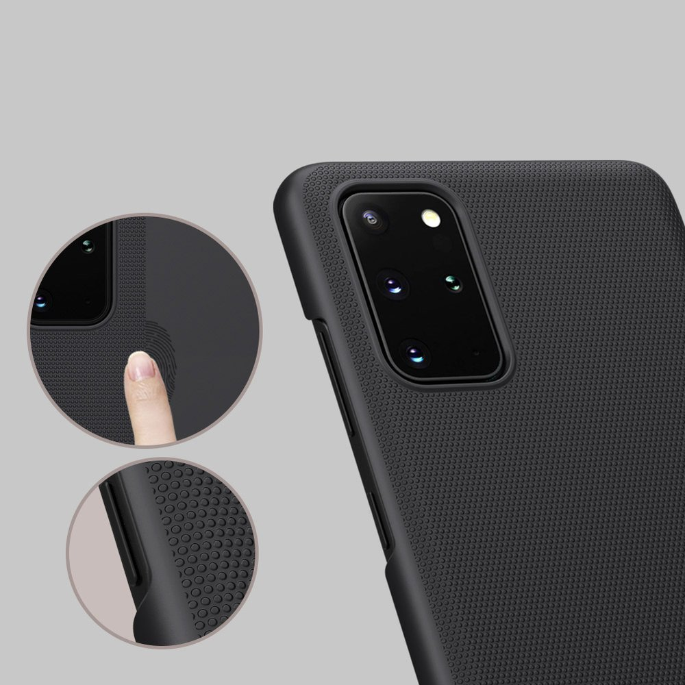 Nillkin Super Frosted Shield Case + kickstand for Samsung Galaxy S20 Plus black