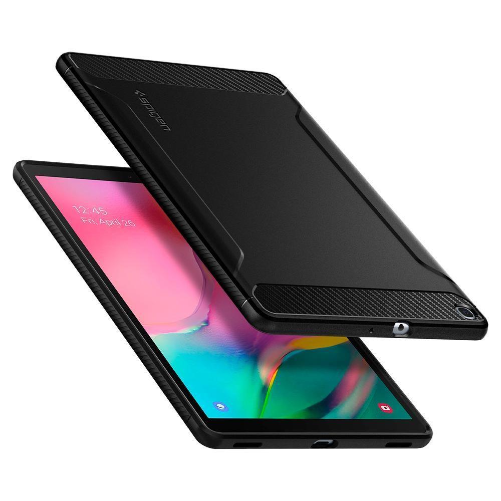 Spigen Rugged Armor Galaxy Tab A 10.1 2019 T510/T515 Black
