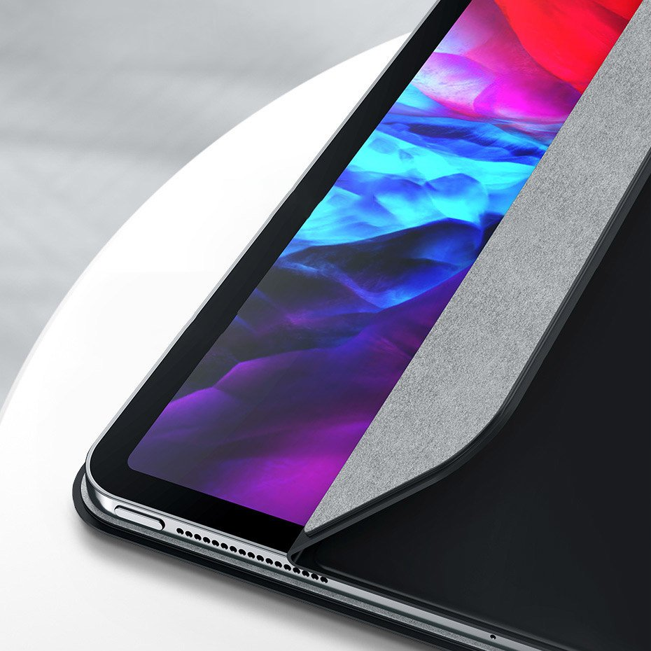 Baseus magnetic frameless case cover with multi-angle stand and Smart Sleep function for iPad Pro 11'' 2020 black (LTAPIPD-ESM01)