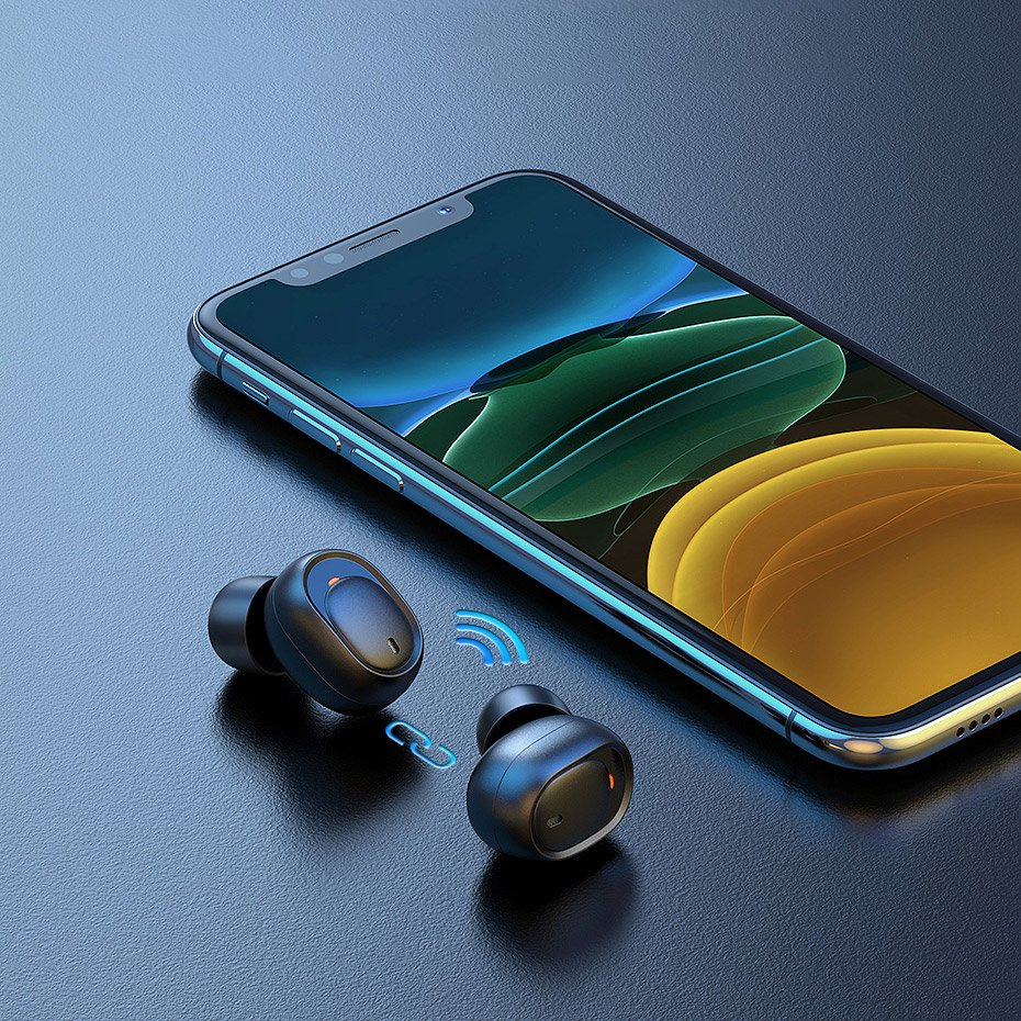 Ugreen True Wireless Earphones TWS Bluetooth Stereo Earbuds black (CM338 80311)