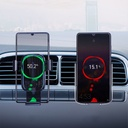 Baseus Explore Wireless Charger Gravity Car Mount Phone Bracket Air Vent Holder Qi Charger 15 W black (WXYL-K01)