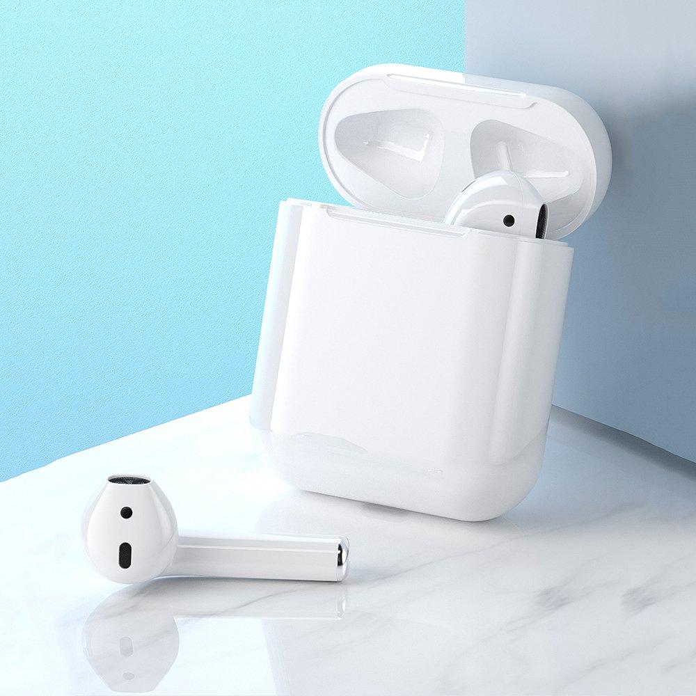 WK Design mini wireless earphone Bluetooth TWS white (T3 white)