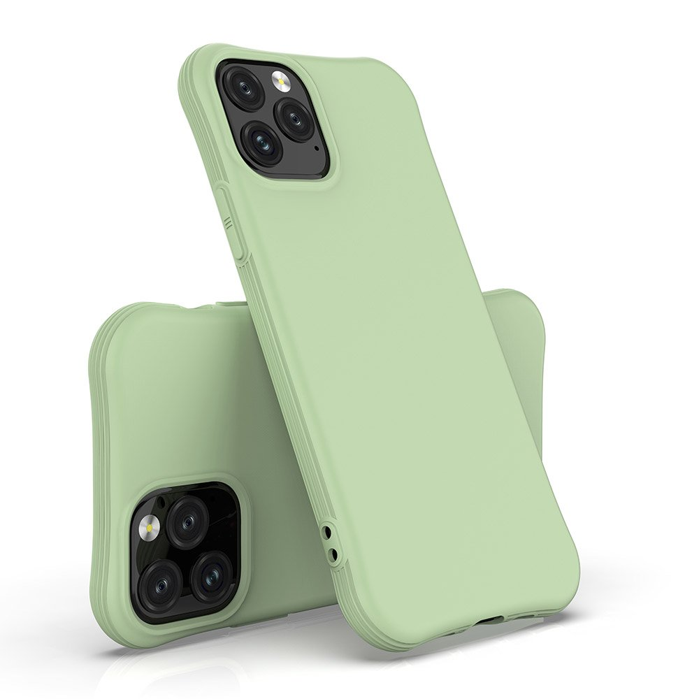 Soft Color Case flexible gel case for iPhone 11 Pro Max dark green