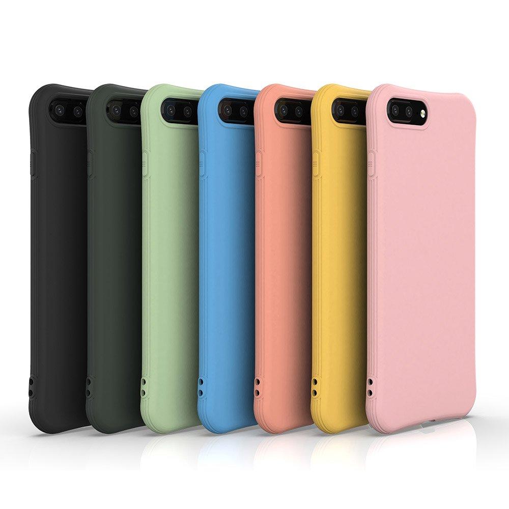 Soft Color Case flexible gel case for iPhone 8 Plus / iPhone 7 Plus black