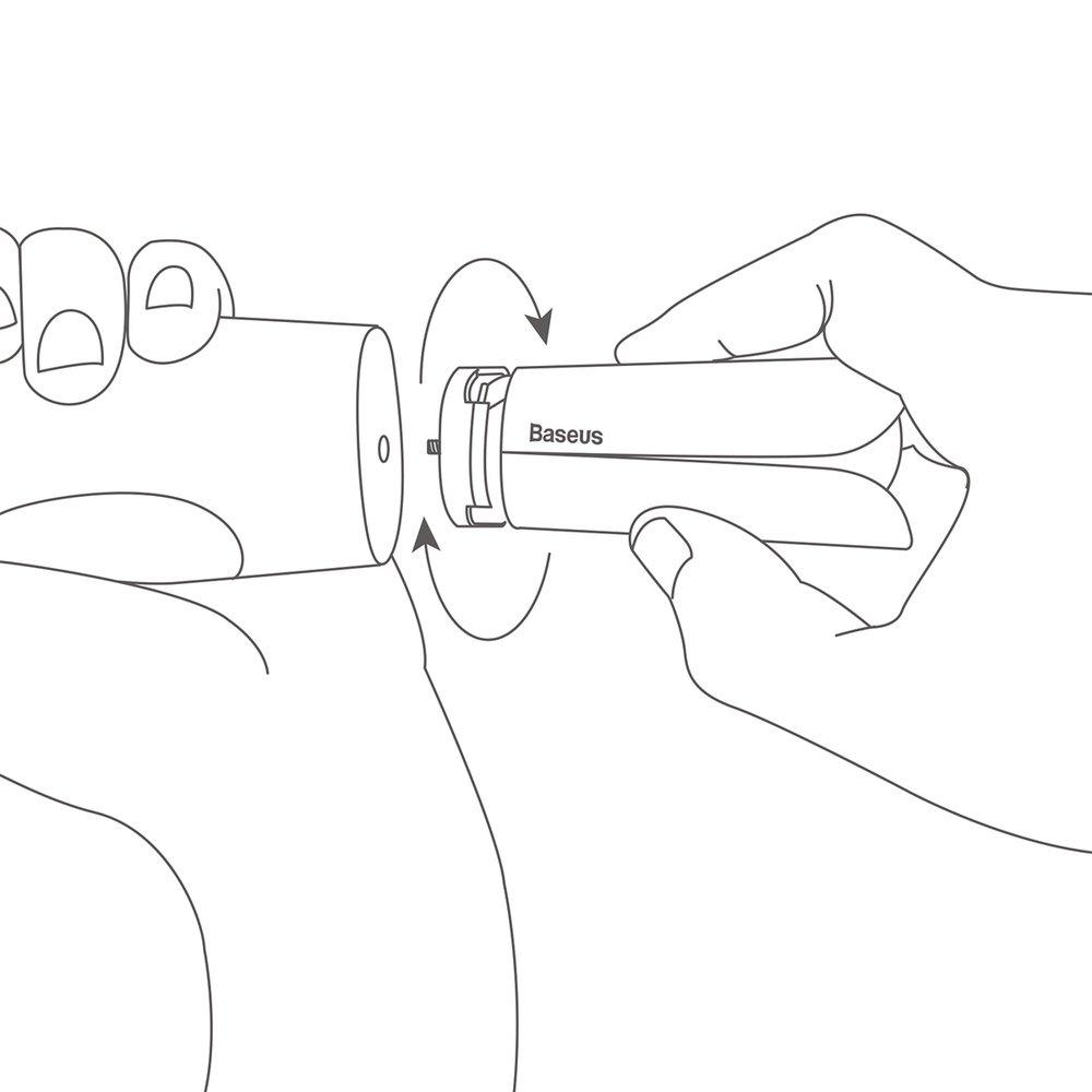 Baseus mini tripod stabilizer for phone camera gimbal gray (SUYT-A0G)