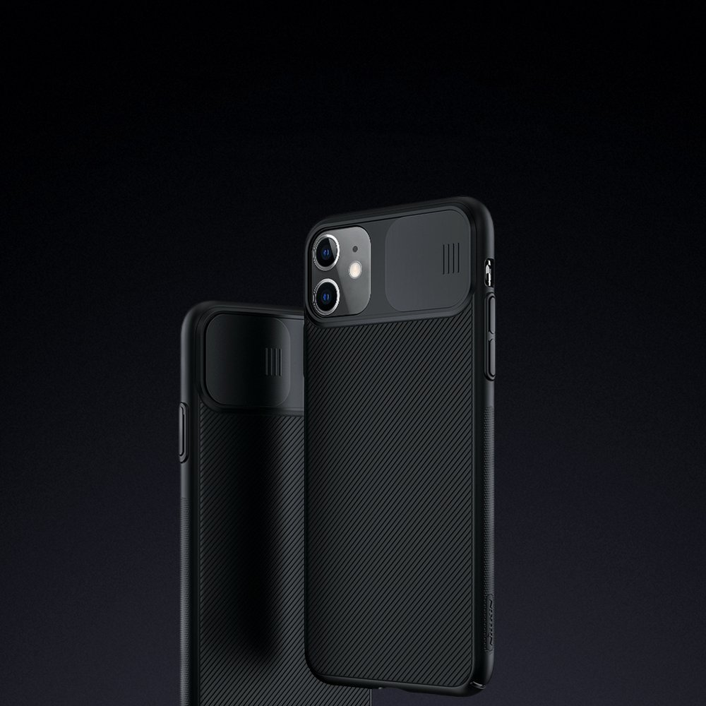 Nillkin CamShield Case Slim Cover with camera protection shield for iPhone 11 black