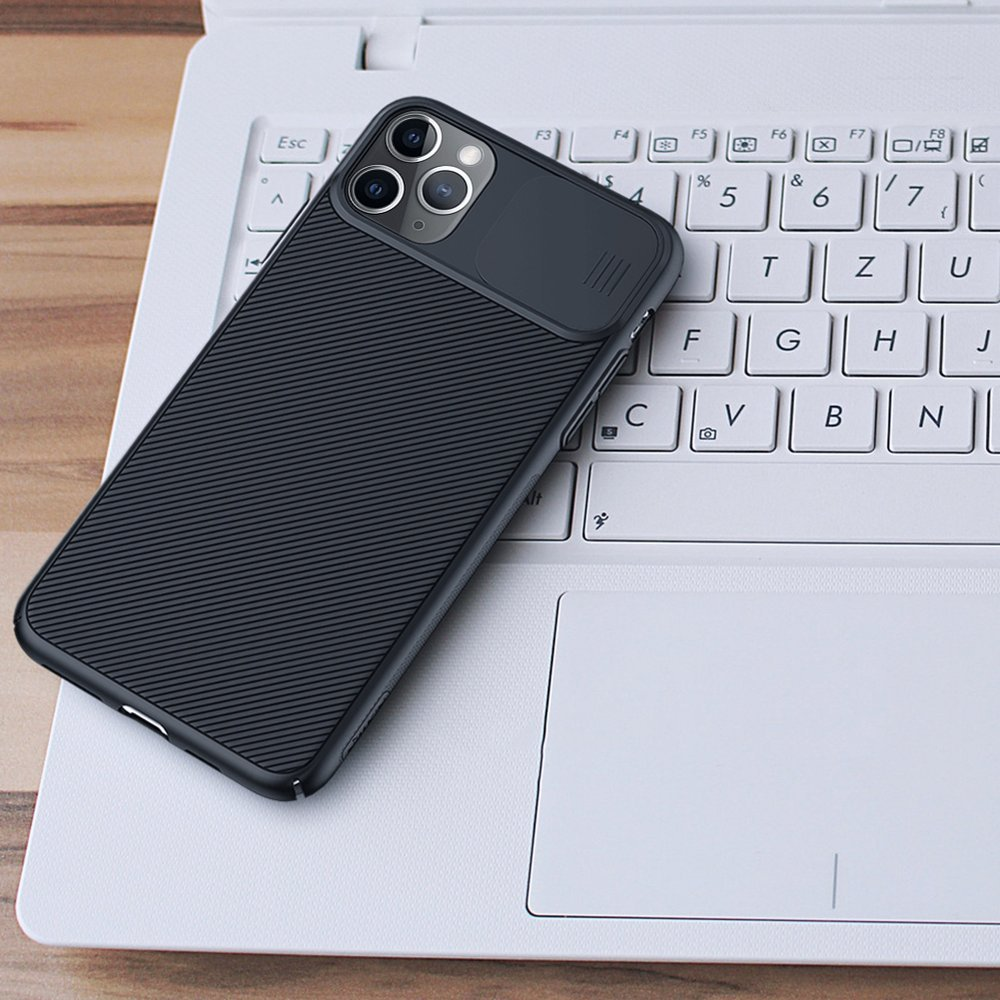 Nillkin CamShield Case Slim Cover with camera protection shield for iPhone 11 Pro black