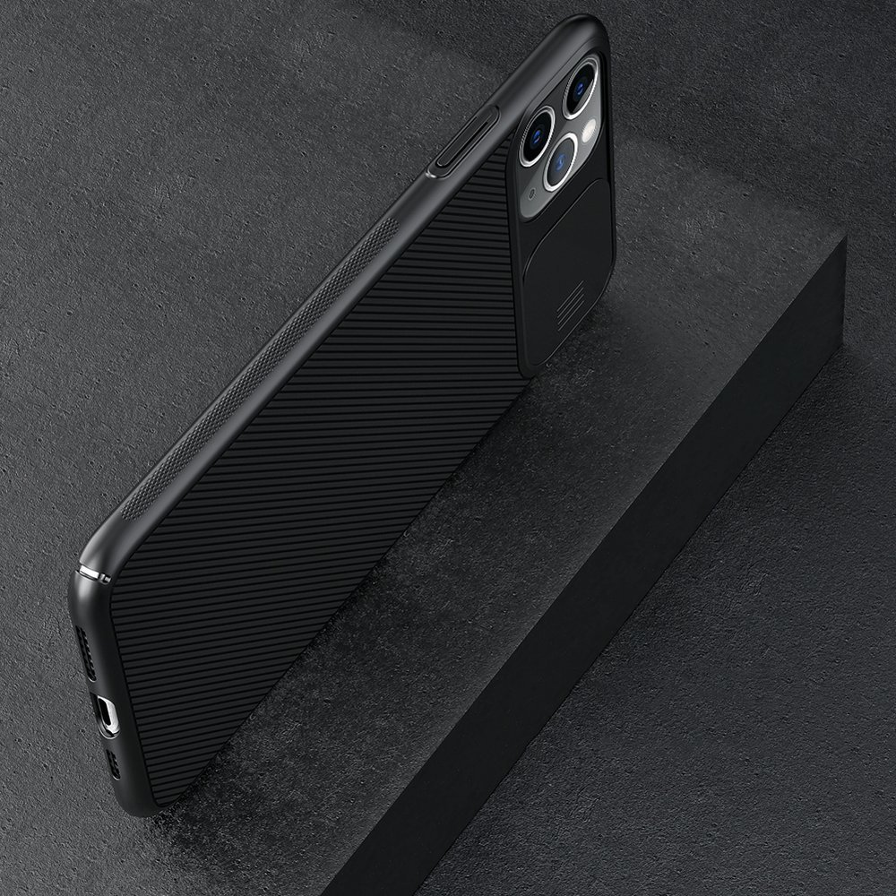 Nillkin CamShield Case Slim Cover with camera protection shield for iPhone 11 Pro Max black